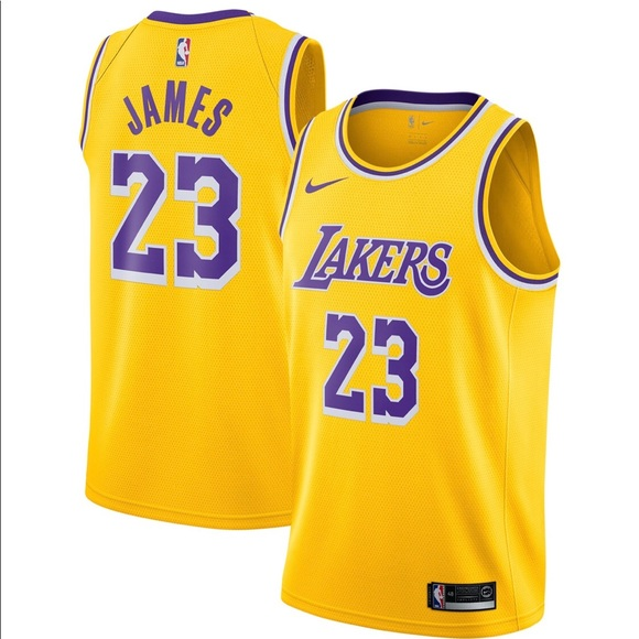 00d8aedfd63 2019 Nike Los Angeles Lakers LeBron James Jersey